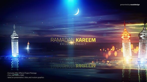 Ramadan Kareem Lake View Title