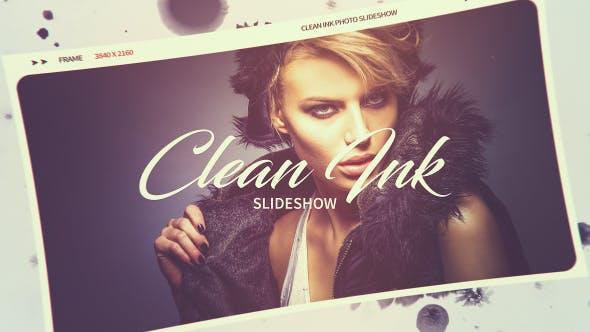 Clean Ink Slideshow