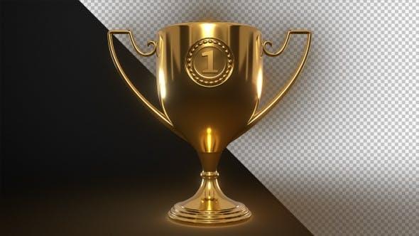 Golden Trophy – 4k