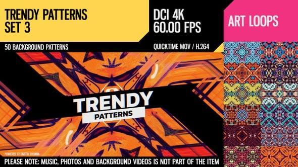 Trendy Patterns (4k Set 3)