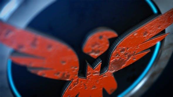 3D Paint Logo Reveal