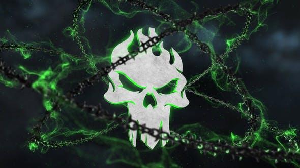 Dark Chains Horror Logo