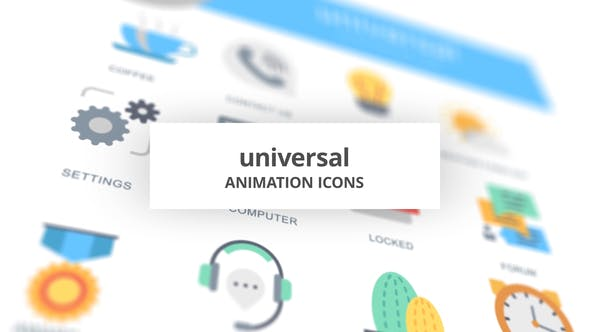 Universal – Animation Icons