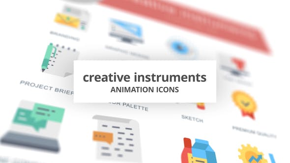Creative Instruments – Animation Icons