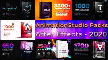 AnimationStudio All Packs For After Effects