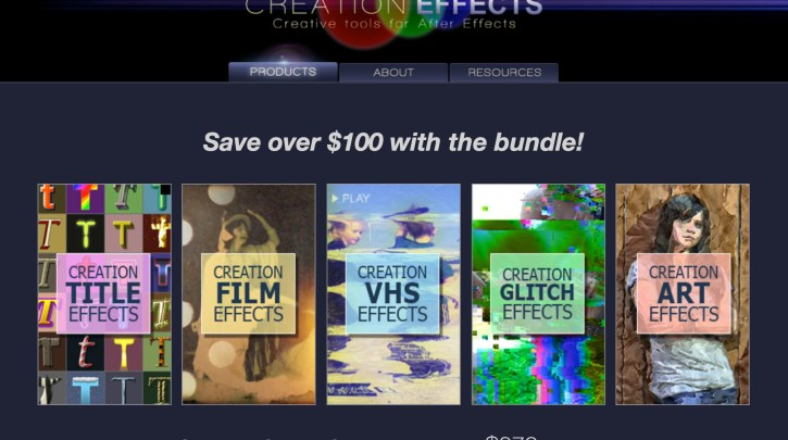 Creation Effects Bundle
