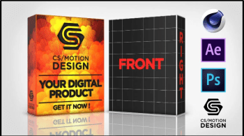 How to Create a Product Box in After Effects and Element 3D using Cinema 4D and Photoshop