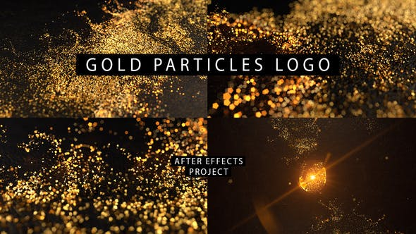 Gold Particles Logo