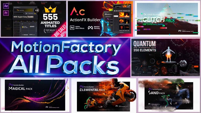 Motion Factory Classic All Packs