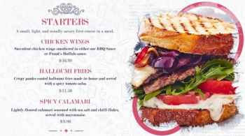Restaurant Food Menu Slides