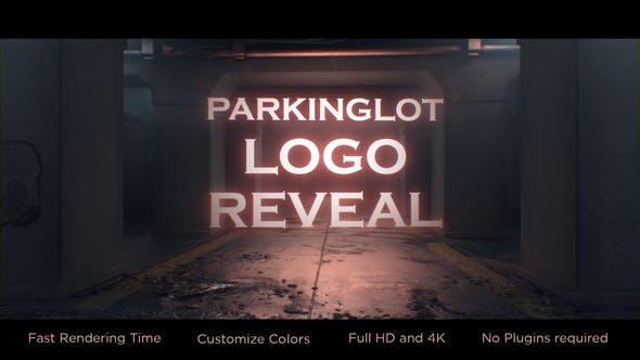 Parking-lot Logo Reveal