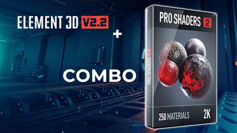Video Copilot - Pro Shaders 2 & Element 3D