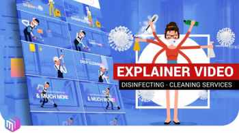 Explainer Video   Disinfection, Cleaning services