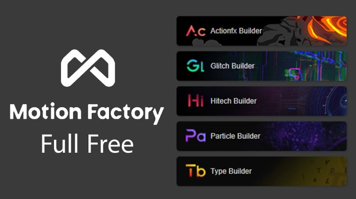 Motion Factory 2.41 Plugins