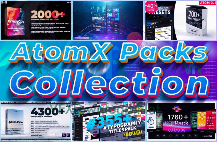 AtomX Packs Collection 2020