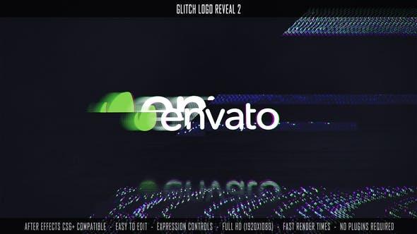 Glitch Logo Reveal 2