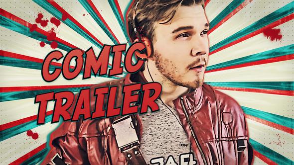 Comic Con / Freeze Frame Trailer