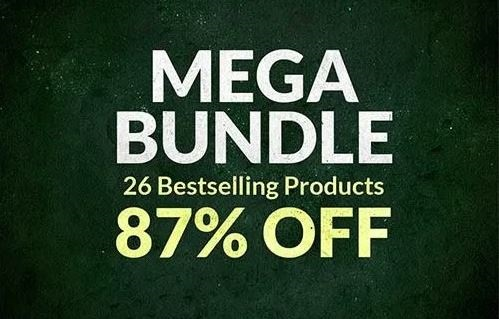CreativeMarket MEGA BUNDLE 25 Bestselling Products