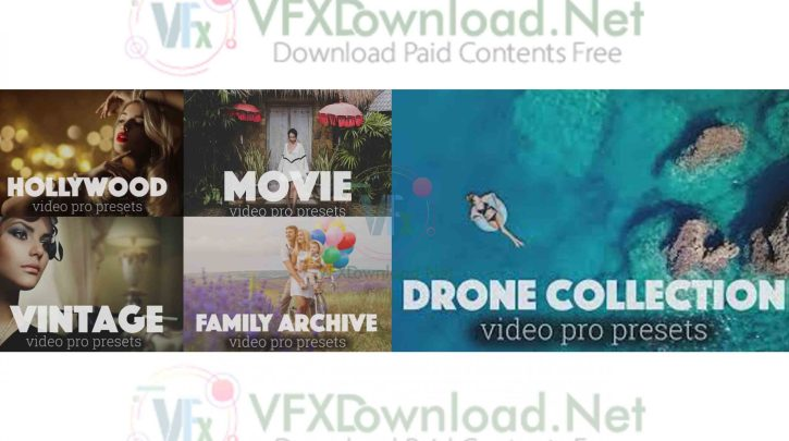Video Pro Presets Luts Free Download