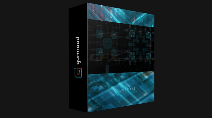 Gumroad – Substrate – Abstract Tech Pack