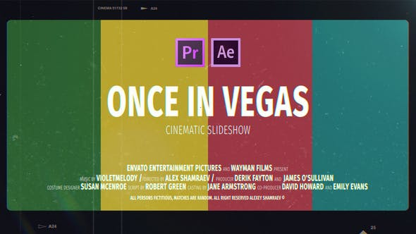 Cinematic Slideshow | Once In Vegas