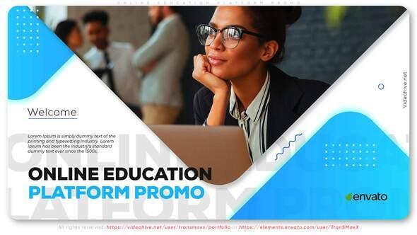 Online Education Platform Promo