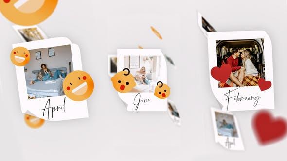 IGTV - Simple Memories Slideshow