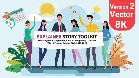 Story Maker Explainer Toolkit V2