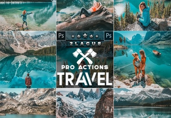 Travel Blogger Photoshop Actions