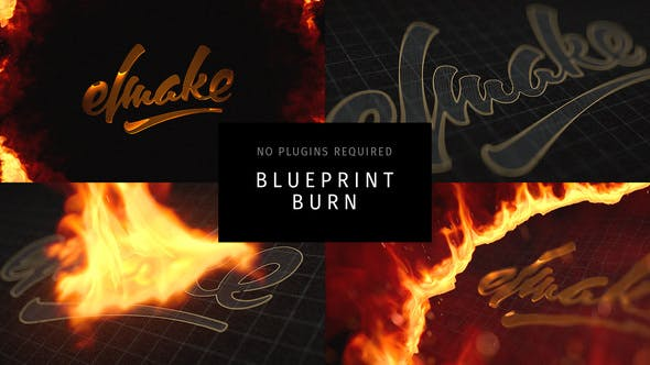 Blueprint Burn