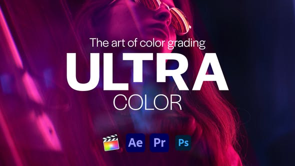 Ultra Color LUTs pack for Any Software