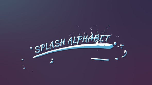 Splash Alphabet