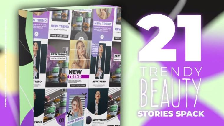Beauty Stories Pack for After Effects