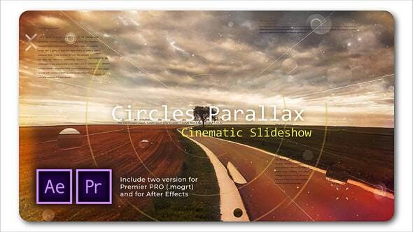 Circle Parallax | Cinematic Slideshow