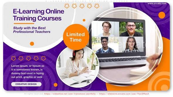 E-Learning Online Training Courses