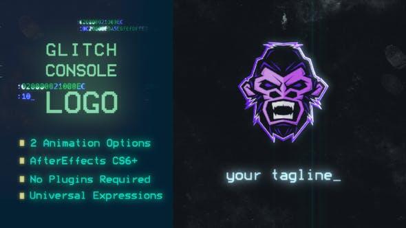 Glitch Console Logo