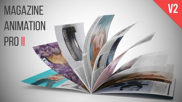 Magazine Animation Pro II V2