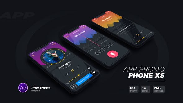 App Promo // Phone Xs