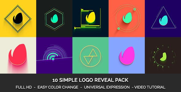 Simple Logo Reveal Pack