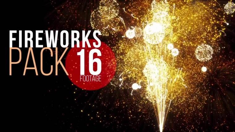 16 Fireworks Pack