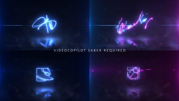 Neon Signature Logo