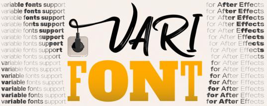 Aescripts VariFont v1.0