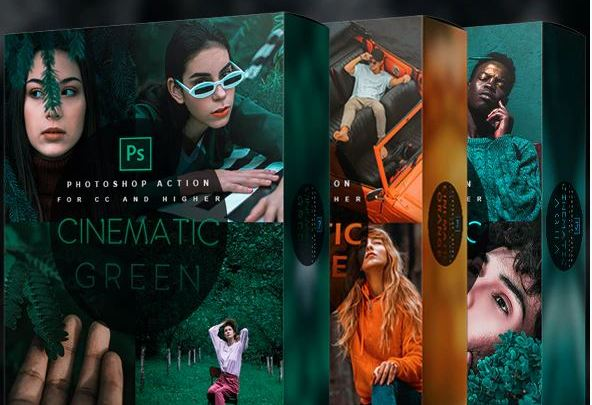 Cinematic Bundle – Photoshop Actions