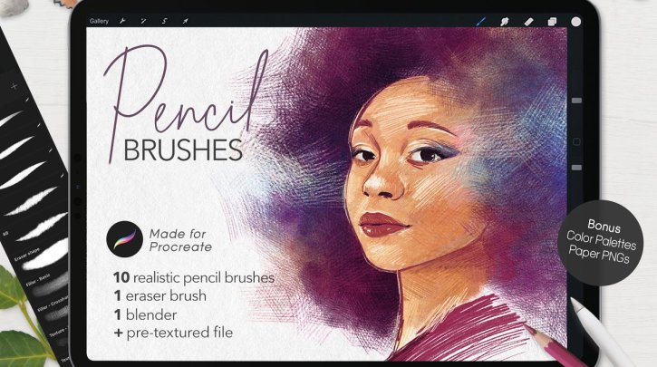 Ultimate Pencil Brushes • Procreate