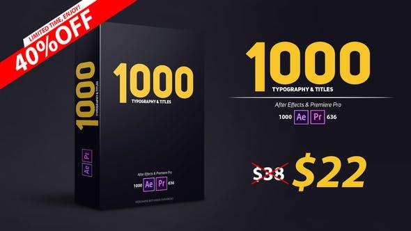 900 Typography & Titles