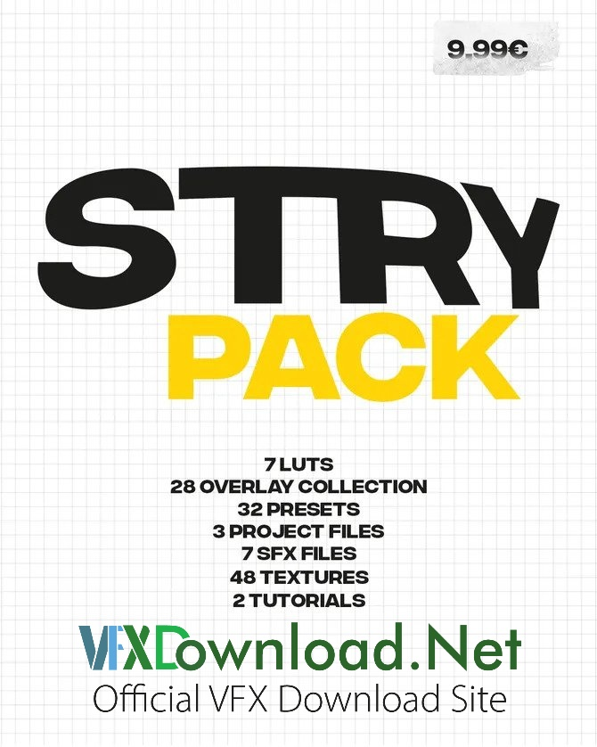 Stry Editing Pack