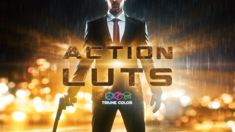 Triune Digital – Action Film LUTS