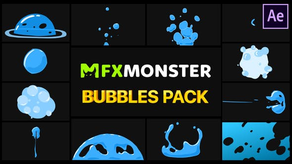 Bubbles Pack After Effects