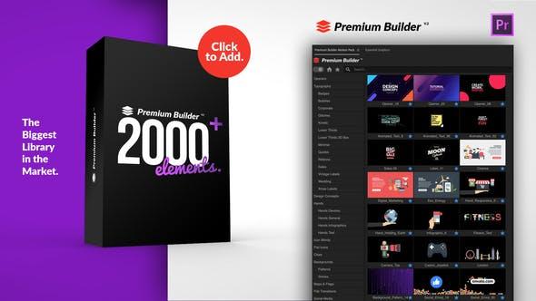 PremiumBuilder Motion Pack for Premiere Pro