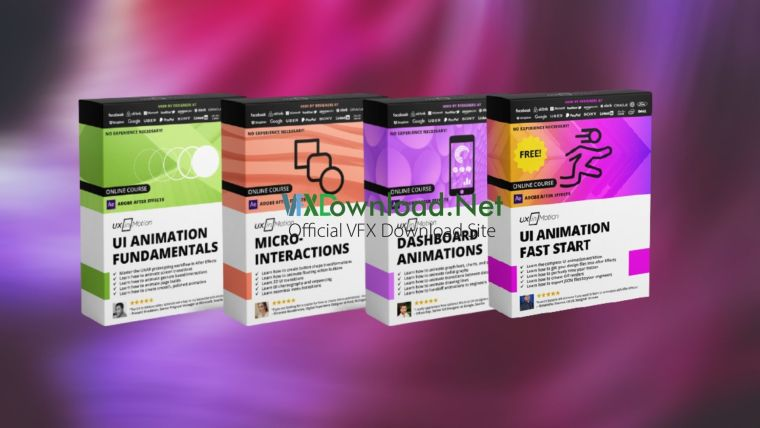 UI Animation Fundamentals & Micro-interactions & Dashboard Animations Bundle & UI Animation With After Effects Fast Start